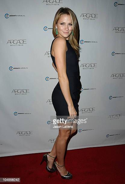 Actress Shantel VanSanten attends the Autumn Party benefiting Children's Institute at The London Hotel on September 29, 2010 in West Hollywood,...