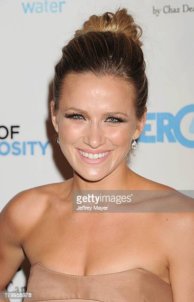 Actress Shantel VanSanten attends the Generosity Water's 5th annual night of Generosity benefit held at the Beverly Hills Hotel on September 6 2013...