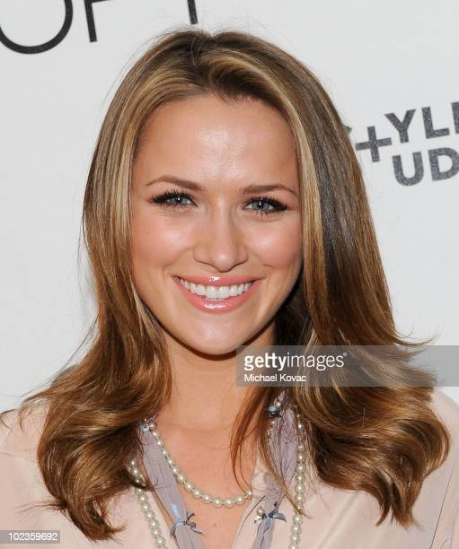Actress Shantel VanSanten attends the LOFT Fall 2010 Style Studio Press Preview and Cocktail Party at Chateau Marmont on June 23 2010 in Los Angeles...
