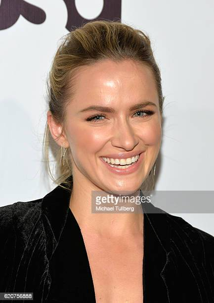 Actress Shantel VanSanten attends TV Guide Magazine And USA Network's celebration of USA's 'Shooter' at Sofitel Hotel on November 2 2016 in Los...