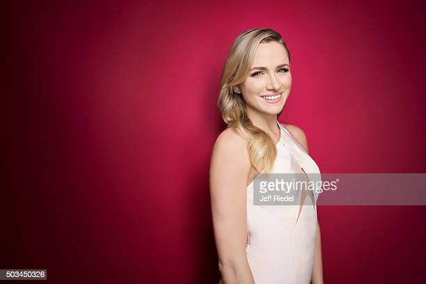 Actress Shantel VanSanten is photographed for TV Guide Magazine on January 17 2015 in Pasadena California