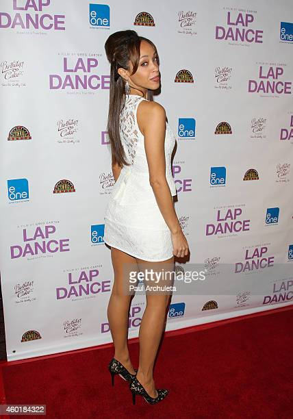 Actress Shanti Lowry attends the Los Angeles premiere of Lap Dance at ArcLight Cinemas on December 8 2014 in Hollywood California