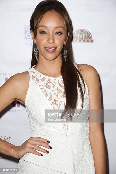 Actress Shanti Lowry attends the Los Angeles Premiere of the film Lap Dance at ArcLight Cinemas on December 8 2014 in Hollywood California