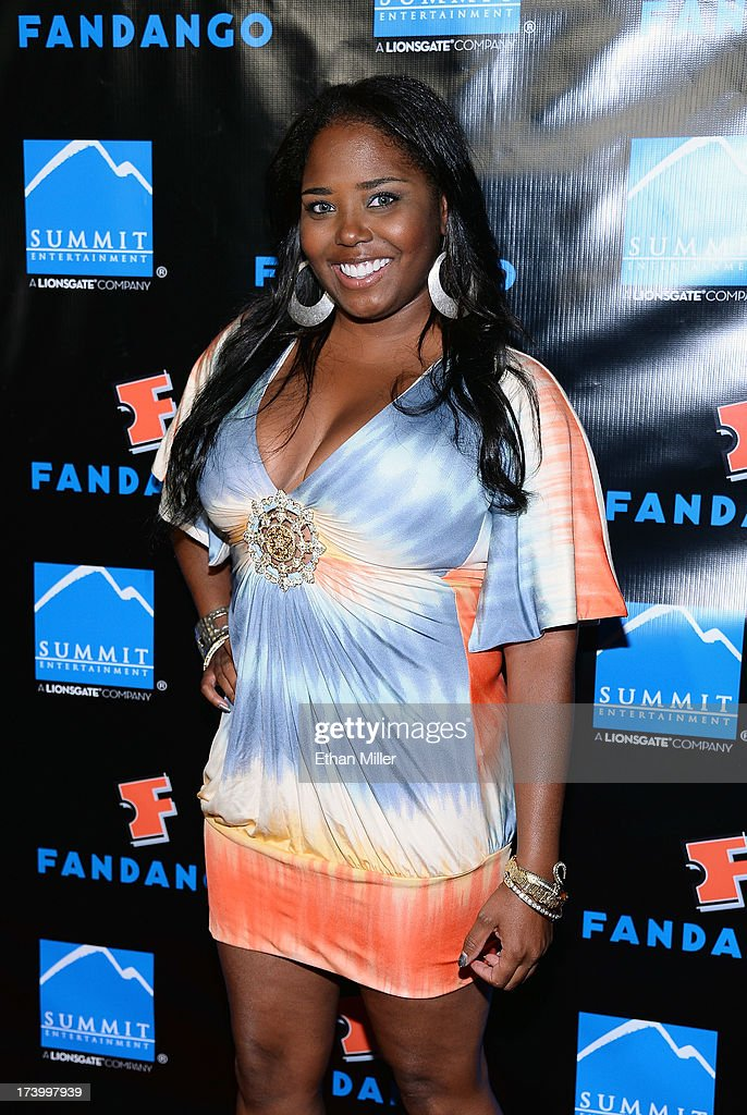 Actress Shar Jackson arrives at Summit Entertainment's press event for the movies 'Ender's Game' and 'Divergent' at the Hard Rock Hotel San Diego on July 18, 2013 in San Diego, California.