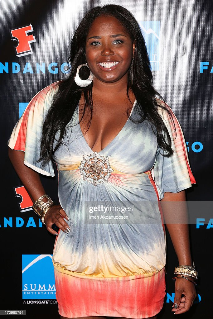 Actress Shar Jackson attends Summit Entertainment's Comic-Con Red Carpet Press Event at Hard Rock Hotel San Diego on July 18, 2013 in San Diego, California.
