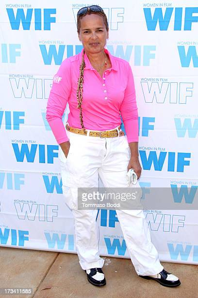 Actress Shari Belafonte attends the 16th annual Women In Film Malibu Golf Classic held at the Malibu Country Club on July 13 2013 in Malibu California