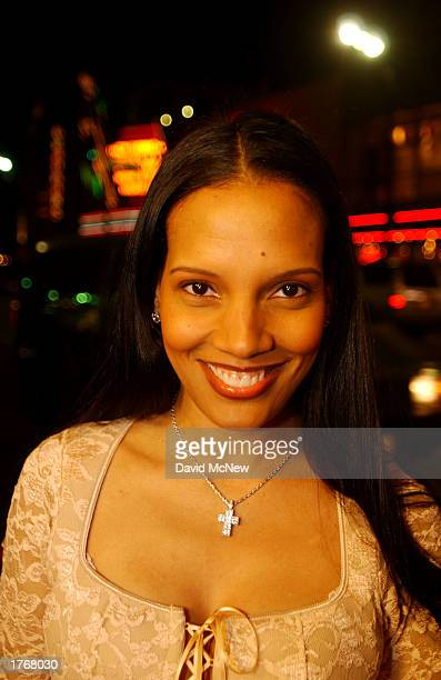 Actress Shari Headley arrives for the screening of Civil Band during the Pan African Film Arts Festival on February 6 2003 in Hollywood California