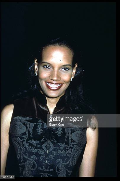 Actress Shari Headley attends a Fox network press party July 25 1997 in Los Angeles CA Celebrities attended a party held by the network to announce...