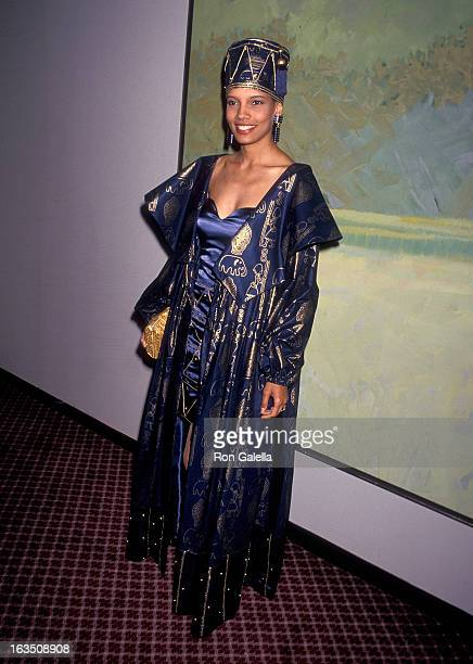 Actress Shari Headley attends the 20th Annual Daytime Emmy Awards on May 26 1993 at the Marriot Marquis Hotel in New York City