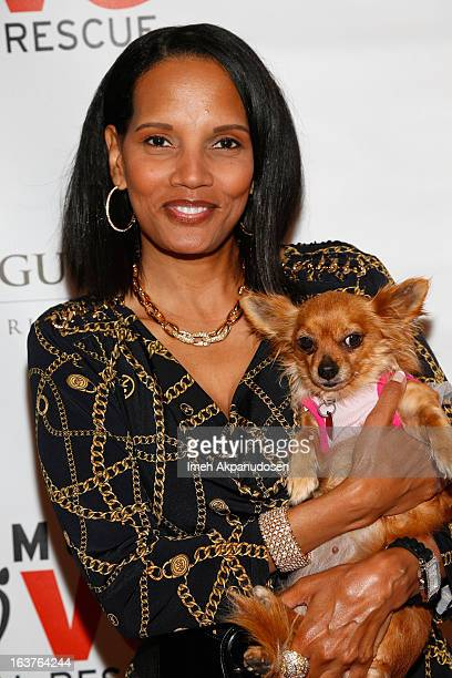 Actress Shari Headley attends the Makeovers For Mutts Fundraiser Honoring Maria Menounos at Peninsula Hotel on March 14 2013 in Beverly Hills...