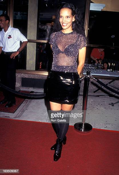 Actress Shari Headley attends the Motown Cafe Grand Opening Cafe on September 6 1995 at the Motown Cafe in New York City