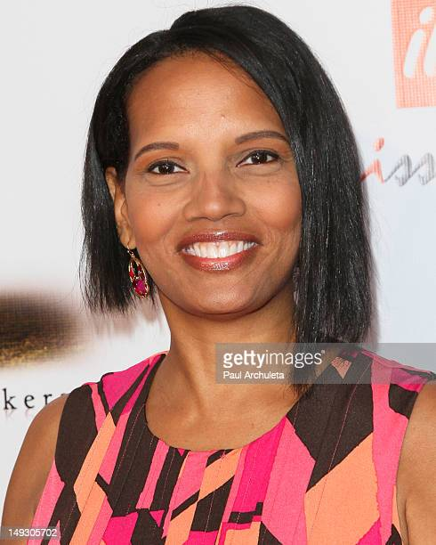 Actress Shari Headley attends the premiere of Stone Marker at The AMC Universal City Walk on July 26 2012 in Universal City California