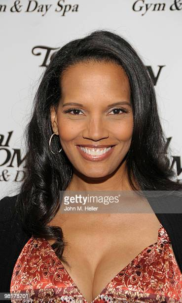 Actress Shari Headley attends the Women's History Month Celebration hosted by the Total Women's Gym Day Spa on March 31 2010 in Woodland Hills...