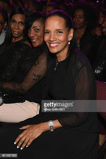 Actress Shari Headley seen in the audience during the 2016 Soul Train Music Awards at the Orleans Arena on November 6 2016 in Las Vegas Nevada