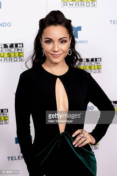 Actress Sharlene Taule attends the 2016 Latin American Music Awards at Dolby Theatre on October 6 2016 in Hollywood California