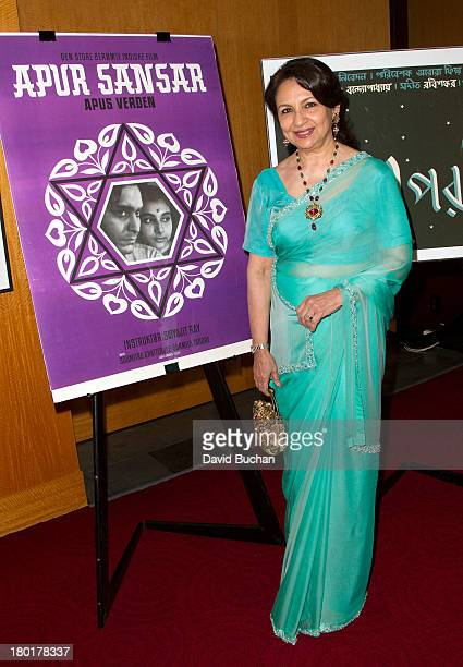 Actress Sharmila Tagore attends The Academy Of Motion Picture Arts And Sciences' Screening Of 'Apur Sansar ' at AMPAS Samuel Goldwyn Theater on...