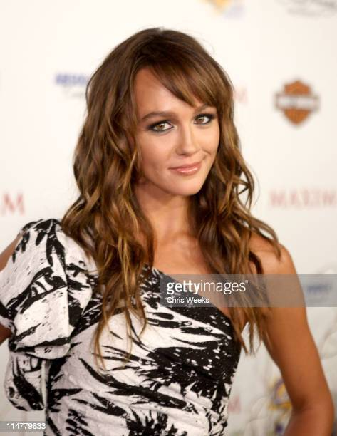 Actress Sharni Vinson arrives at the 11th annual Maxim Hot 100 Party with HarleyDavidson ABSOLUT VODKA Ed Hardy Fragrances and ROGAINE held at...