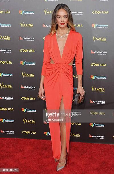 Actress Sharni Vinson arrives at the 2015 G'Day USA Gala Featuring The AACTA International Awards Presented By Quantas at Hollywood Palladium on...