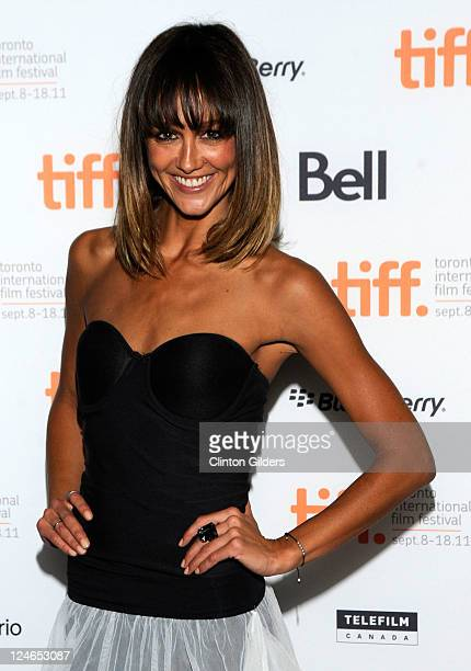 Actress Sharni Vinson arrives at You're Next Premiere at Ryerson Theatre during the 2011 Toronto International Film Festival on September 10 2011 in...