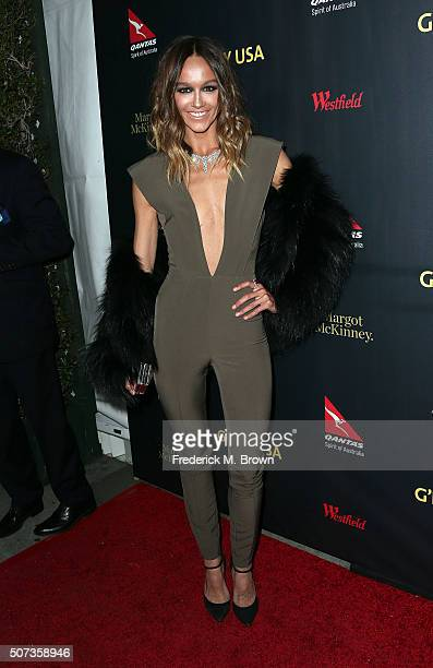Actress Sharni Vinson attends the 2016 G'Day Los Angeles Gala at Vibiana on January 28 2016 in Los Angeles California