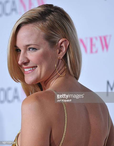 Actress Sharon Case arrives at The MOCA New 30th Anniversary Gala at MOCA Grand Avenue on November 14 2009 in Los Angeles California
