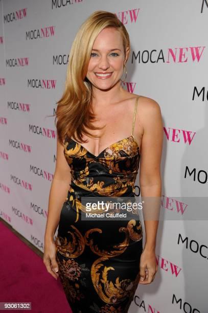 Actress Sharon Case arrives at the MOCA NEW 30th anniversary gala held at MOCA on November 14 2009 in Los Angeles California