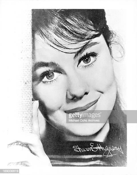 Actress Sharon Hugueny poses for a portrait in circa 1964