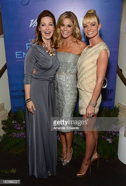 Actress Sharon Lawrence, Actress Julie Bowen and Actress Jaime Pressly attend Variety and Women in Film Pre-EMMY Event presented by Saint Vintage at...