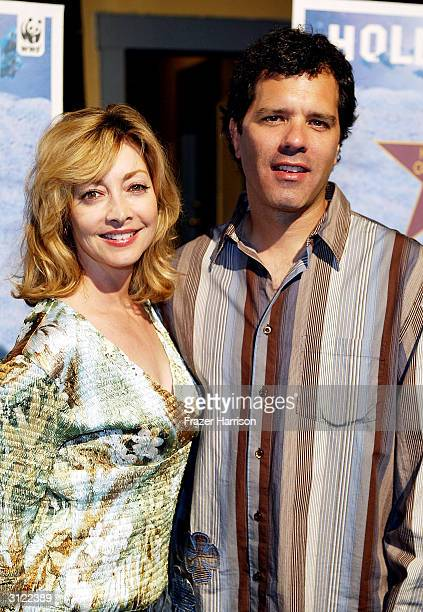 Actress Sharon Lawrence and husband Dr Tom Apostle attend Hollywood Ocean Night presented by Shifting Baselines and sponsored by the World Wildlife...