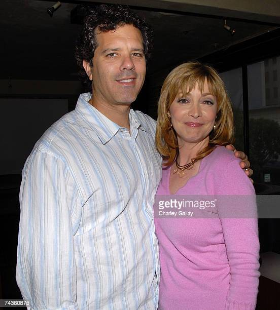 Actress Sharon Lawrence and husband Dr Tom Apostle attend the premiere party for Hidden Palms hosted by Kevin Williamson and Lionsgate Television at...