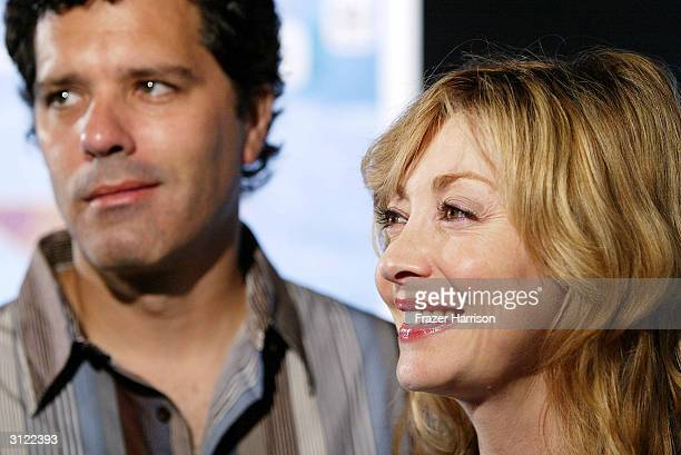 Actress Sharon Lawrence and husband DrTom Apostle attend the Hollywood Ocean Night presented by Shifting Baselines and sponsored by the World...