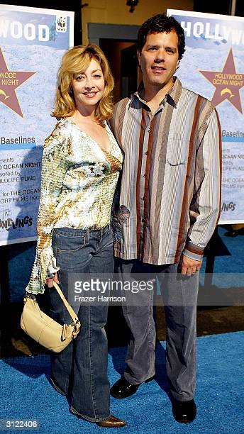 Actress Sharon Lawrence and Husband DrTom Apostle attends the Hollywood Ocean Night presented by Shifting Baselines and sponsored by the World...