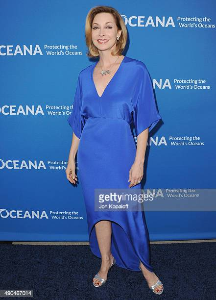 Actress Sharon Lawrence arrives at A Concert For Our Oceans at Wallis Annenberg Center for the Performing Arts on September 28 2015 in Beverly Hills...