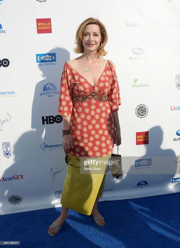Actress Sharon Lawrence arrives at Heal The Bay 'Bring Back The Beach' fundraiser at The Jonathan Club on May 15, 2014 in Santa Monica, California.