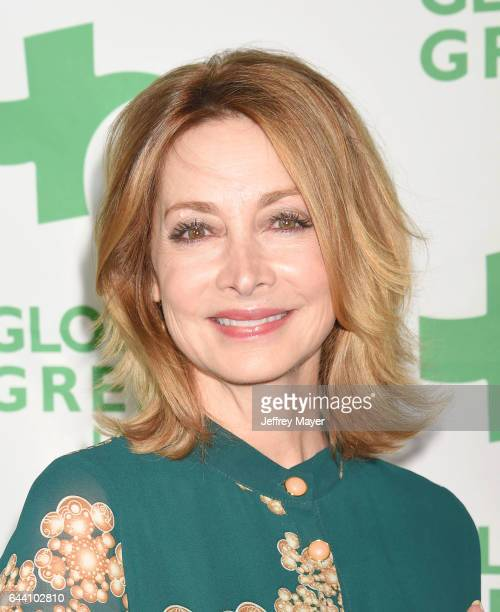 Actress Sharon Lawrence arrives at the 14th Annual Global Green PreOscar Gala at TAO Hollywood on February 22 2017 in Los Angeles California