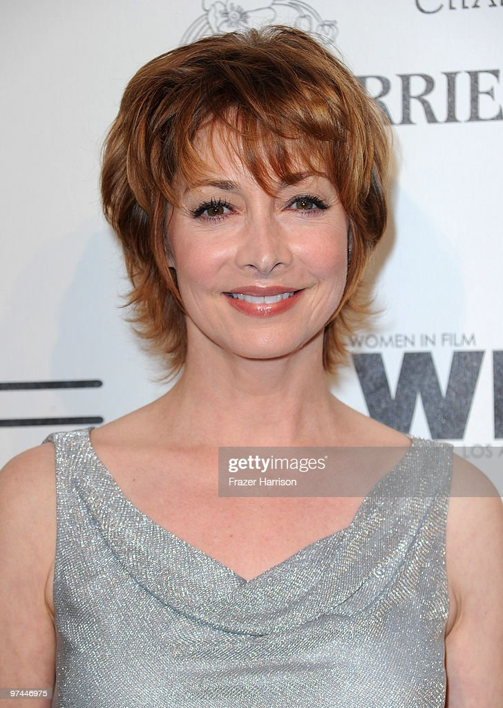 Actress Sharon Lawrence arrives at the 3rd Annual Women In Film Pre-Oscar Party at a private residence in Bel Air on March 4, 2010 in Los Angeles, California.