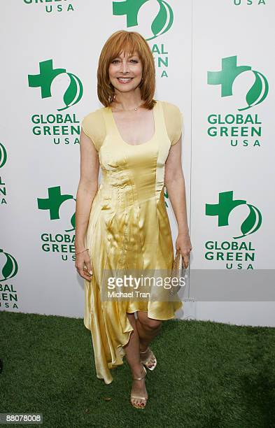 Actress Sharon Lawrence arrives to the Global Green USA's 13th Annual Millennium Awards held at the Fairmont Miramar Hotel on May 30 2009 in Santa...
