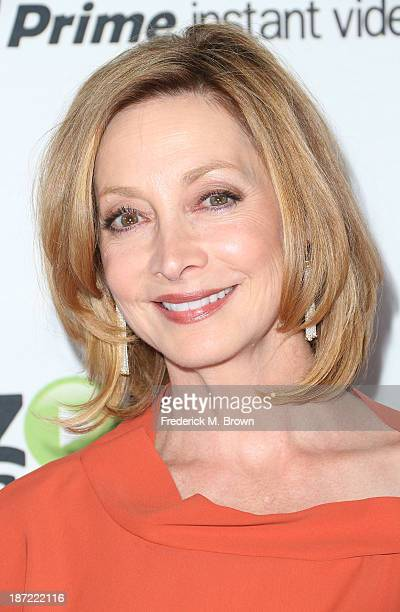 Actress Sharon Lawrence attends Amazon Studios Launch Party to Celebrate Premieres of their First Original Series at Boulevard3 on November 6 2013 in...