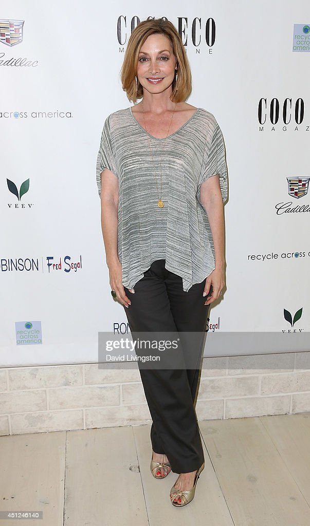 Actress Sharon Lawrence attends Coco Eco Magazine launches of it's Earth Rocks! debut print issue at Roy Robinson at Fred Segal on June 25, 2014 in Los Angeles, California.