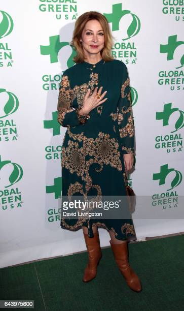 Actress Sharon Lawrence attends the 14th Annual Global Green PreOscar Gala at TAO Hollywood on February 22 2017 in Los Angeles California