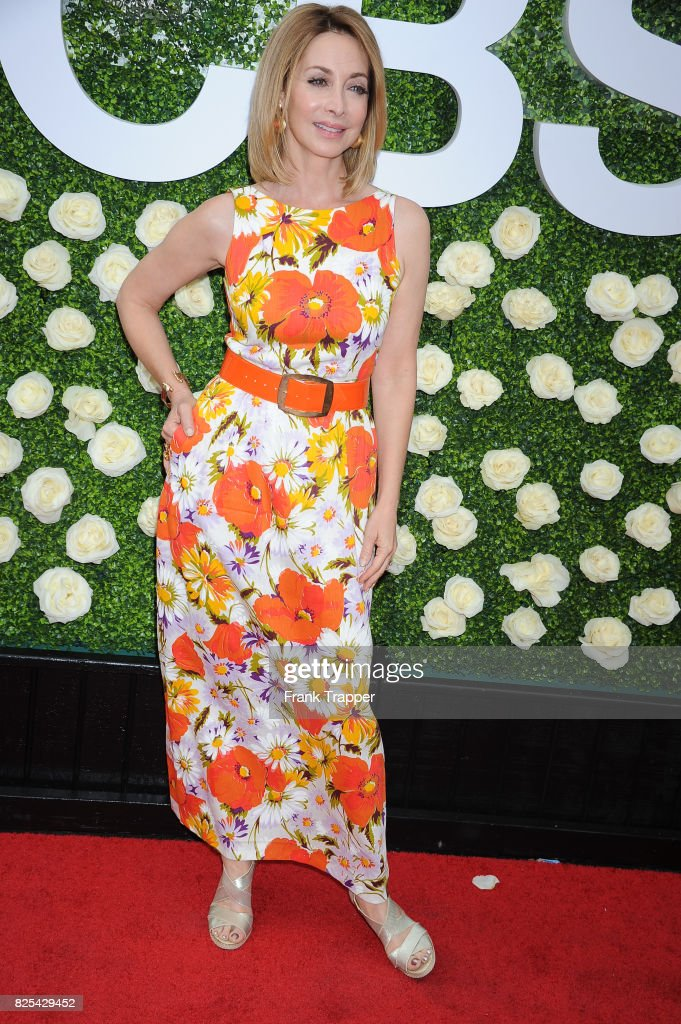 Actress Sharon Lawrence attends the 2017 Summer TCA Tour CBS Television Studios' Summer Soiree at CBS Studios - Radford on August 1, 2017 in Studio City, California.