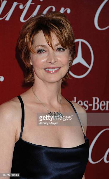 Actress Sharon Lawrence attends the 21st Annual Palm Springs International Film Festival Opening Night Gala at Palm Springs Convention Center on...