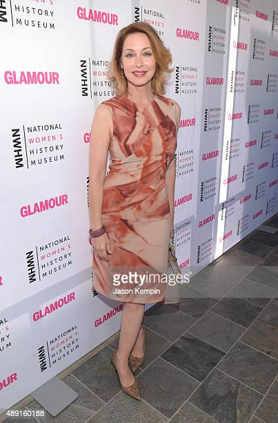 Actress Sharon Lawrence attends the 4th Annual Women Making History Brunch presented by the National Women's History Museum and Glamour Magazine at...