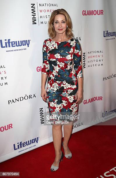 Actress Sharon Lawrence attends the 5th Annual Women Making History Brunch at Montage Beverly Hills on September 17 2016 in Beverly Hills California