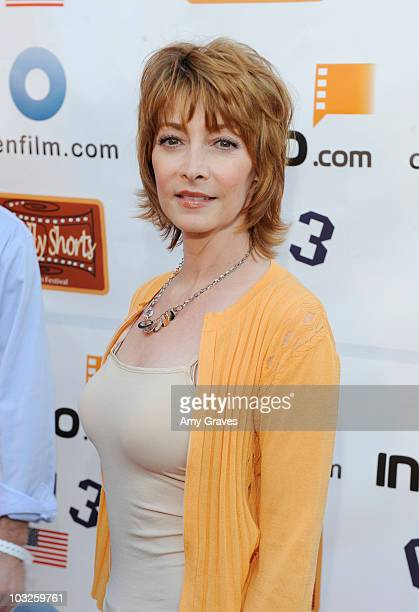Actress Sharon Lawrence attends the 6th Annual HollyShorts Film Festival Presented by H Magazine at Directors Guild Of America on August 5 2010 in...