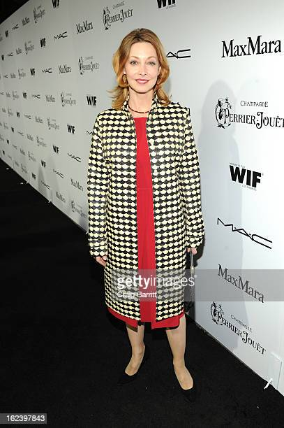 Actress Sharon Lawrence attends the 6th Annual Women In Film PreOscar Party hosted by Perrier Jouet MAC Cosmetics and MaxMara at Fig Olive on...