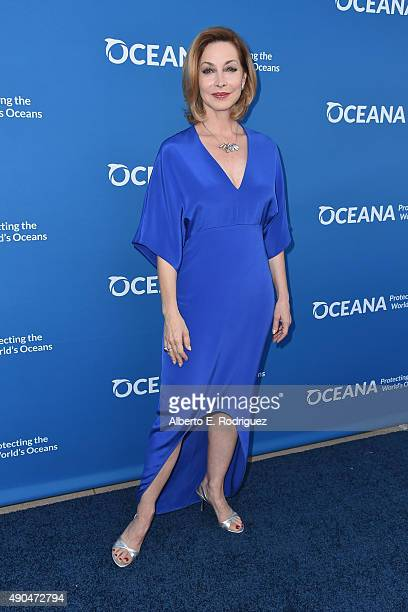 Actress Sharon Lawrence attends the 'Concert For Our Oceans' hosted by Seth MacFarlane benefitting Oceana at The Wallis Annenberg Center for the...