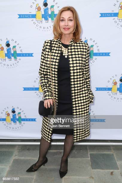 "Actress Sharon Lawrence attends the ""I Have A Dream"" Foundation's 5th Annual Los Angeles' Dreamer Dinner at Skirball Cultural Center on March 18,..."