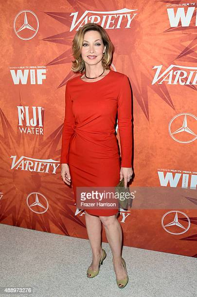 Actress Sharon Lawrence attends the Variety and Women in Film Annual Pre-Emmy Celebration at Gracias Madre on September 18, 2015 in West Hollywood,...