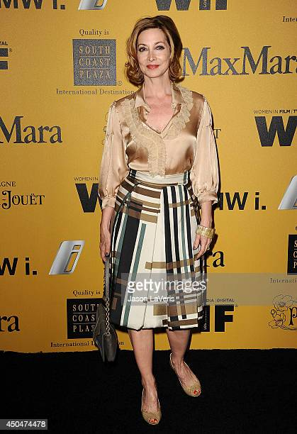 Actress Sharon Lawrence attends the Women In Film 2014 Crystal Lucy Awards at the Hyatt Regency Century Plaza on June 11 2014 in Century City...